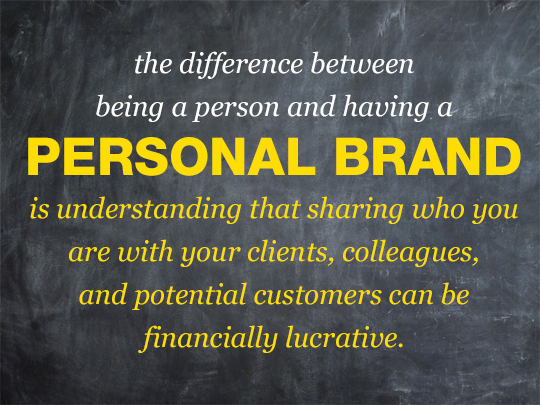Difference Between a Person and a Personal Brand